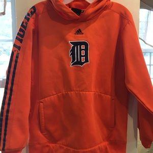 Adidas Boys Detroit Tigers Hoodie Size L